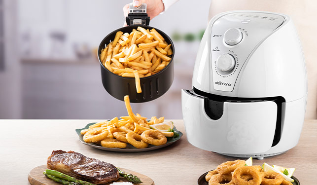 Delimano Air Fryer White
